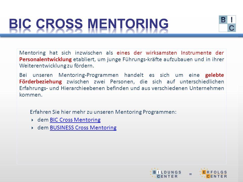 Mentoring hat sich inzwischen als eines der wirksamsten Instrumente der Personalentwicklung etabliert, um junge Führungs-kräfte aufzubauen und in ihrer Weiterentwicklung zu fördern.