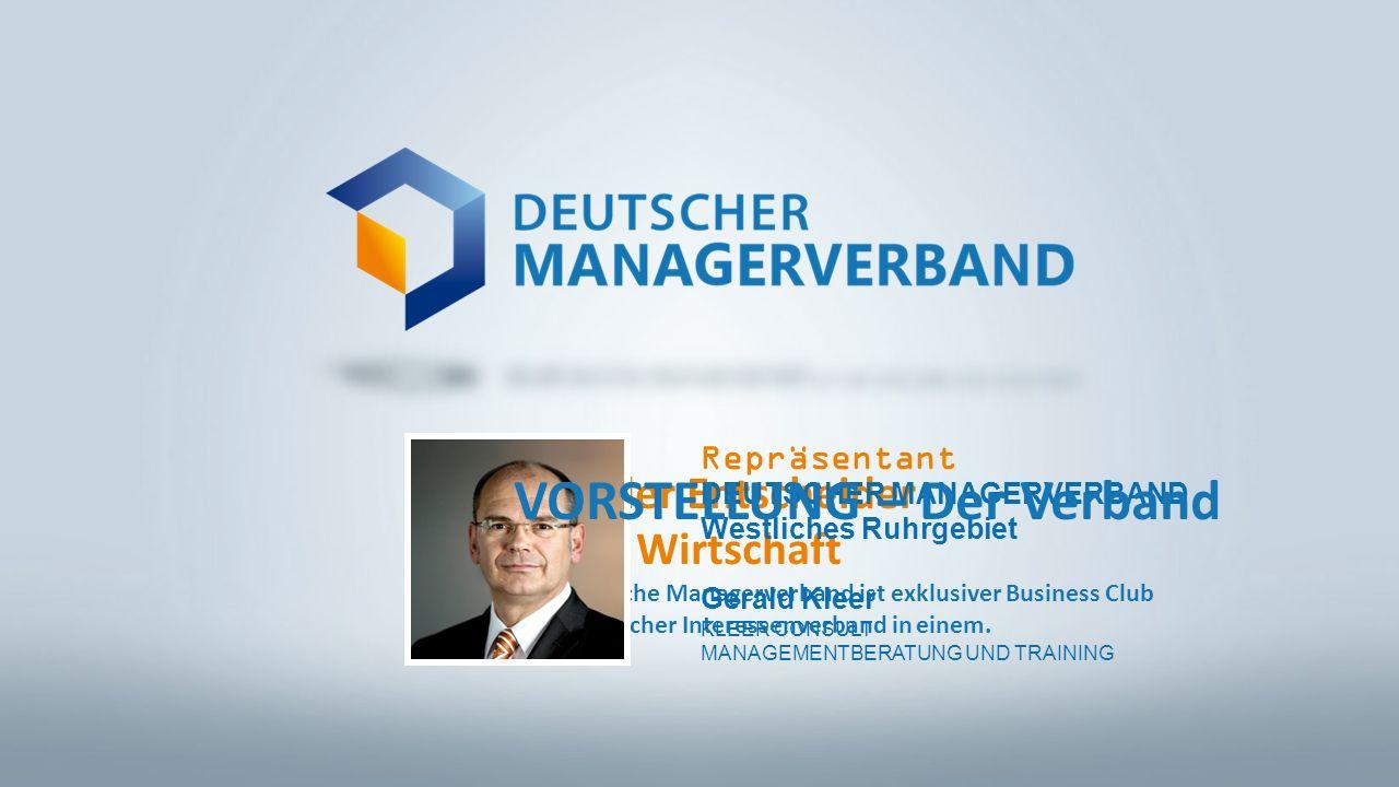 Club der Entscheider in der Wirtschaft Der Deutsche Managerverband ist exklusiver Business Club und politischer Interessenverband in einem.