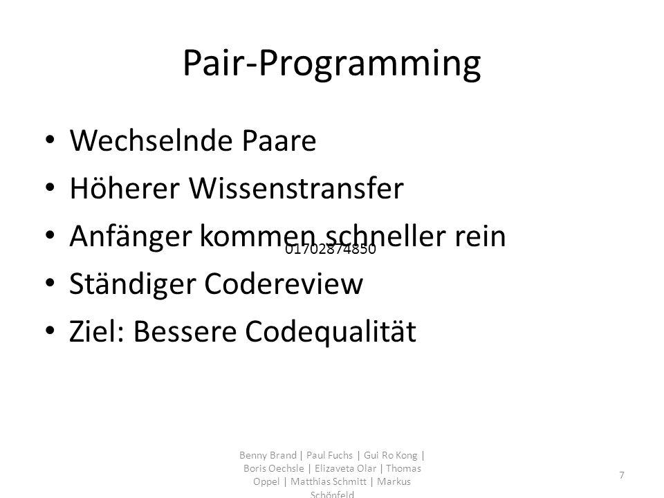 PAUL Benny Brand | Paul Fuchs | Gui Ro Kong | Boris Oechsle | Elizaveta Olar | Thomas Oppel | Matthias Schmitt | Markus Schönfeld 8