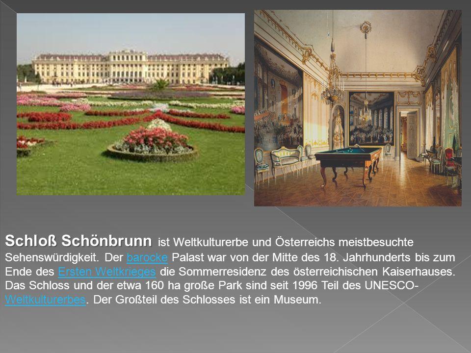 Der Stephansdom am Wiener Stephansplatz gilt als Wahrzeichen Wiens und wird häufig auch als österreichisches Nationalheiligtum bezeichnet.WienerStephansplatzWahrzeichenNationalheiligtum Das Bauwerk ist 107 Meter lang und 34 Meter breit.