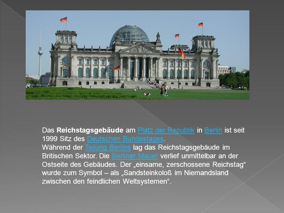 Das monumentale Brandenburger Tor kann auf eine rund 200jährige Geschichte zurückblicken.