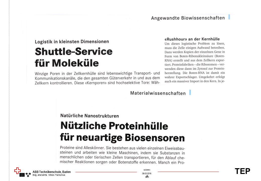 TEP 09.03.2016 48 &[Datei] ABB Technikerschule, Baden Eidg. anerkannte höhere Fachschule