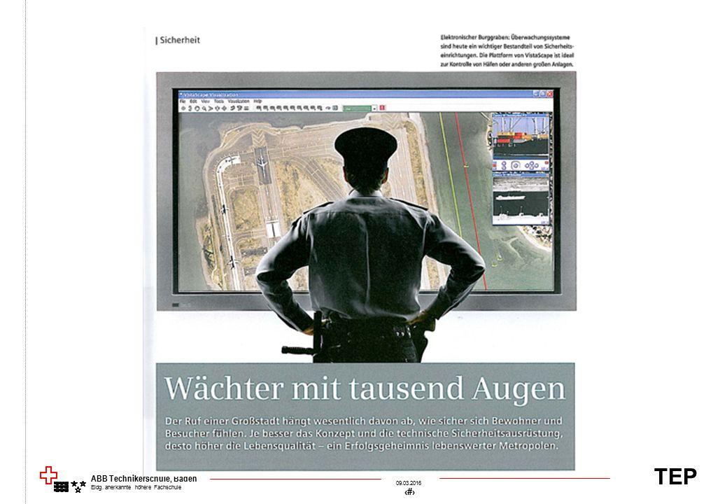 TEP 09.03.2016 70 &[Datei] ABB Technikerschule, Baden Eidg. anerkannte höhere Fachschule