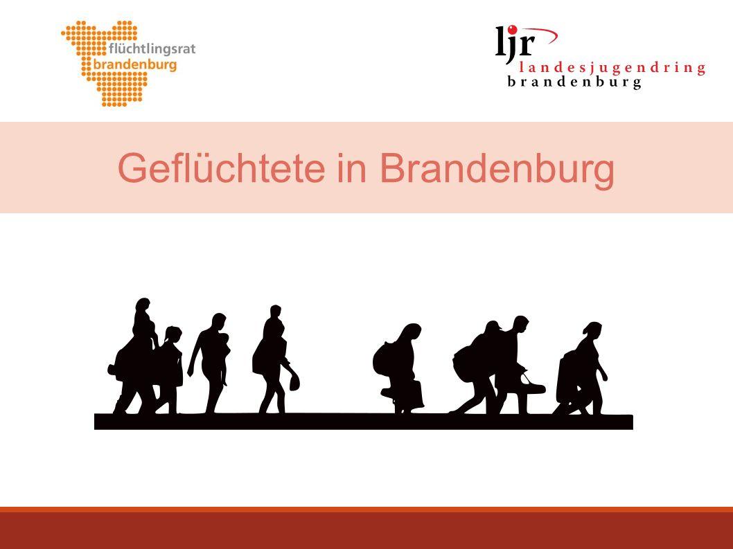 Inhalte der Präsentation 1.Flüchtlingsaufnahme: weltweit – in Europa – in Deutschland 2.Geschlecht, Alter, Bildung, Herkunftsländer, Gesundheit/Traumatisierung Geflüchteter 3.Begriffe/ Kategorien: Begleitete und unbegleitete Minderjährige, Kontingentflüchtlinge 4.Asylverfahren, Aufenthaltstitel und damit verknüpfte Rechte (Sozialleistungen, Arbeit, Schule/Ausbildung) 2