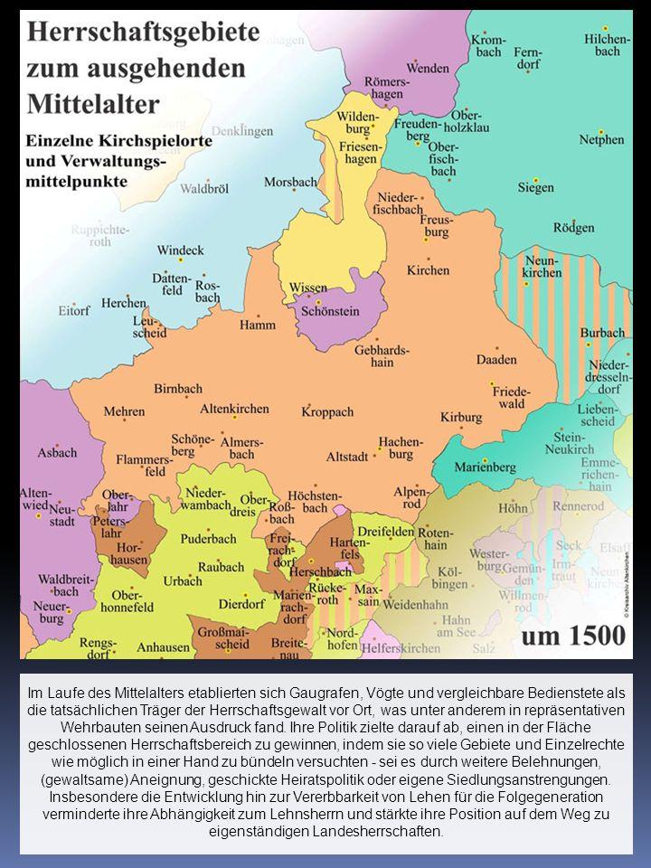 Während Reichsdeputationshauptschluss und Rheinbundakte das bunte Nebeneinander kleinteiliger Herrschaften beseitigten, lebten frühere Grenzverläufe noch in den Ämtern fort.