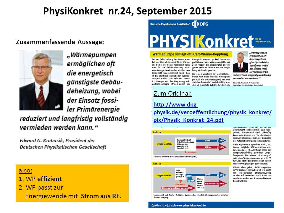PhysiKonkret nr.24, September 2015 Zum Original: http://www.dpg- physik.de/veroeffentlichung/physik_konkret/ pix/Physik_Konkret_24.pdf Zusammenfassend