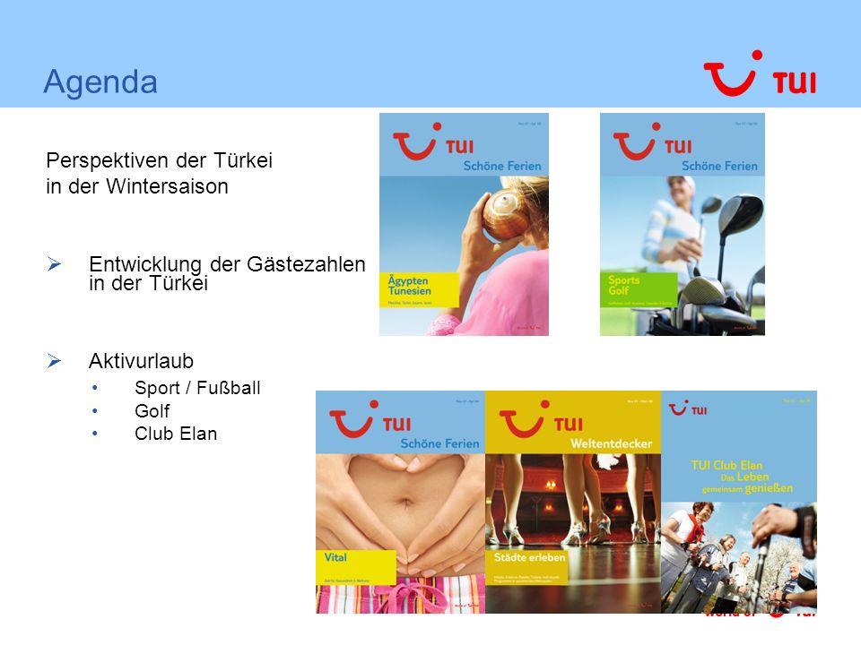 TUI Vital in der Türkei Darüber hinaus gelten die gleichen Kriterien, wie für alle Produktmanagements z.