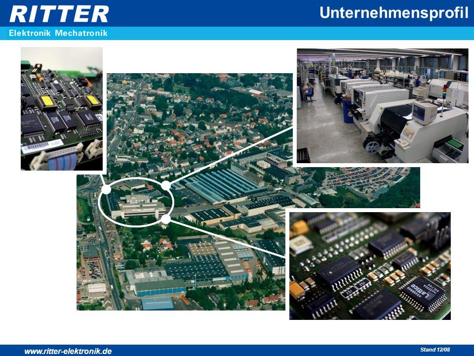 www.ritter-elektronik.de Stand 12/08 Unternehmensprofil