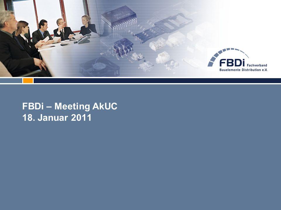 FBDi – Meeting AkUC 18. Januar 2011