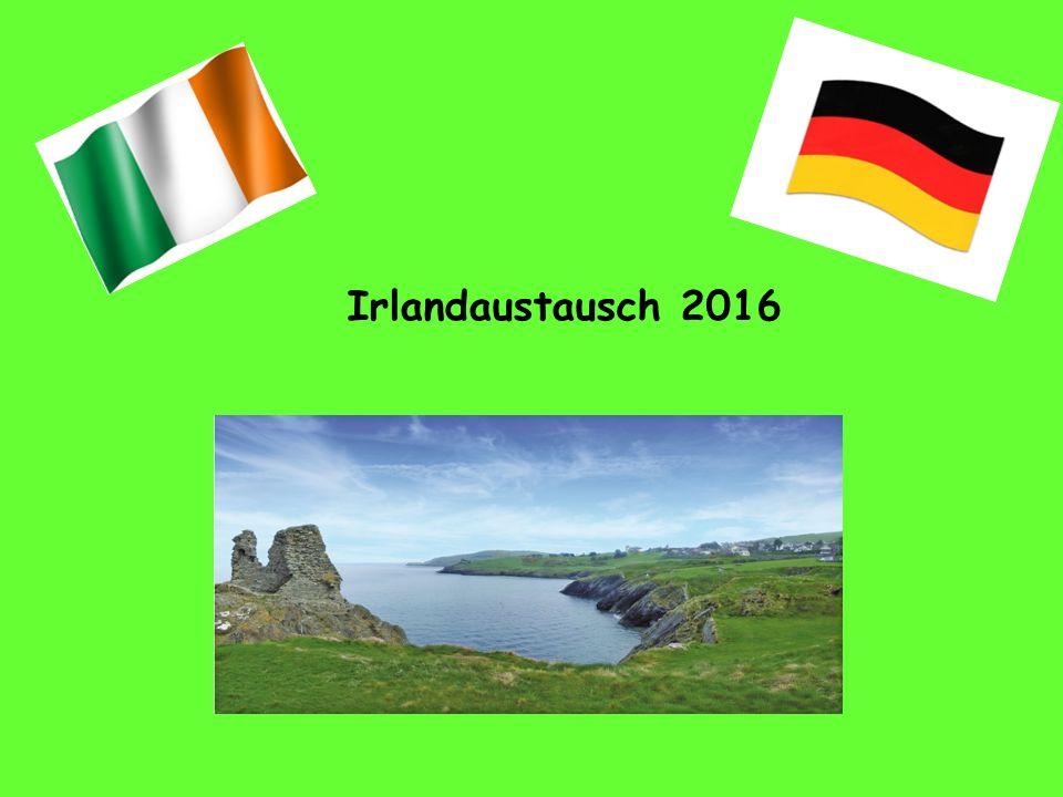 Irlandbesuch vom 06.04.-12.04.2016 Rahmendaten Transfer Hinreise: Mittwoch, 06.04.2016 Treffpunkt Riemenschneider Gymnasium ca.