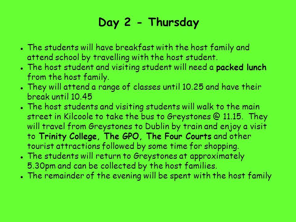 Samstag, 07.05.2016 10 – 13 Uhr Stadtführung für unsere irischen Gäste durch eingeteilte Schülergruppen Nachmittag und Abend zur freien Verfügung in den Familien