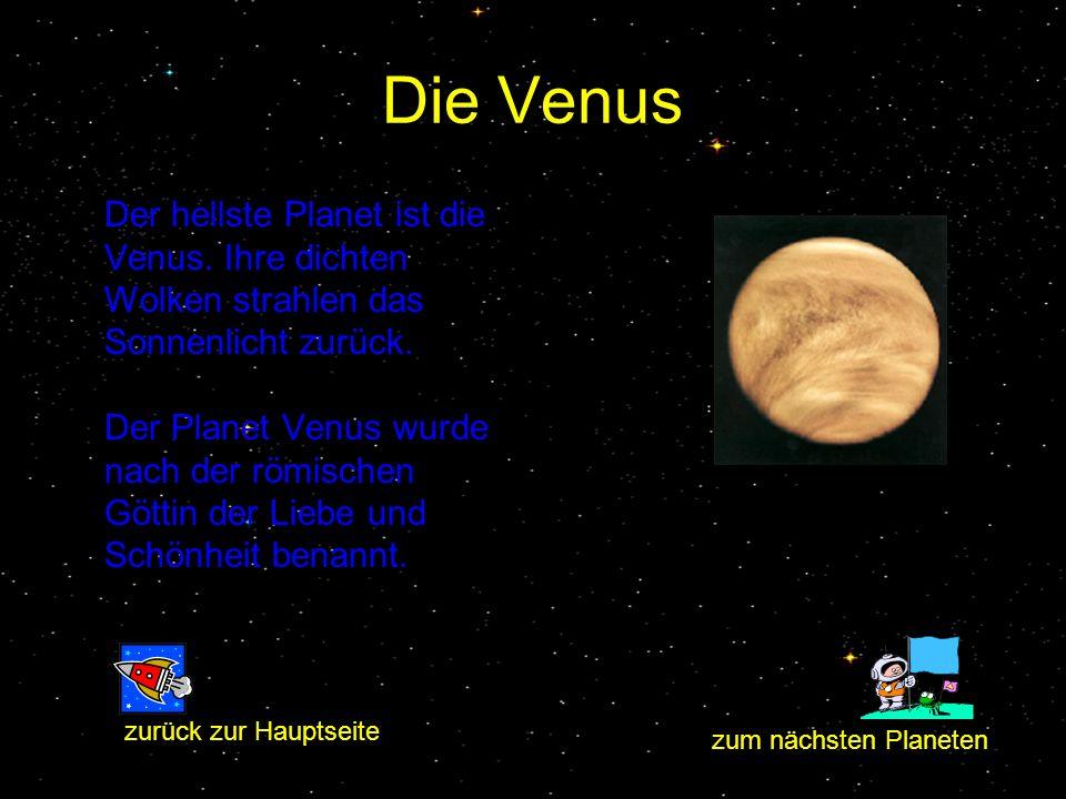 Der Merkur Merkur bekam seinen Namen nach dem griechischen Götterboten. Der Merkur ist der kleinste Planet. Er bewegt sich von allen Planeten am schne