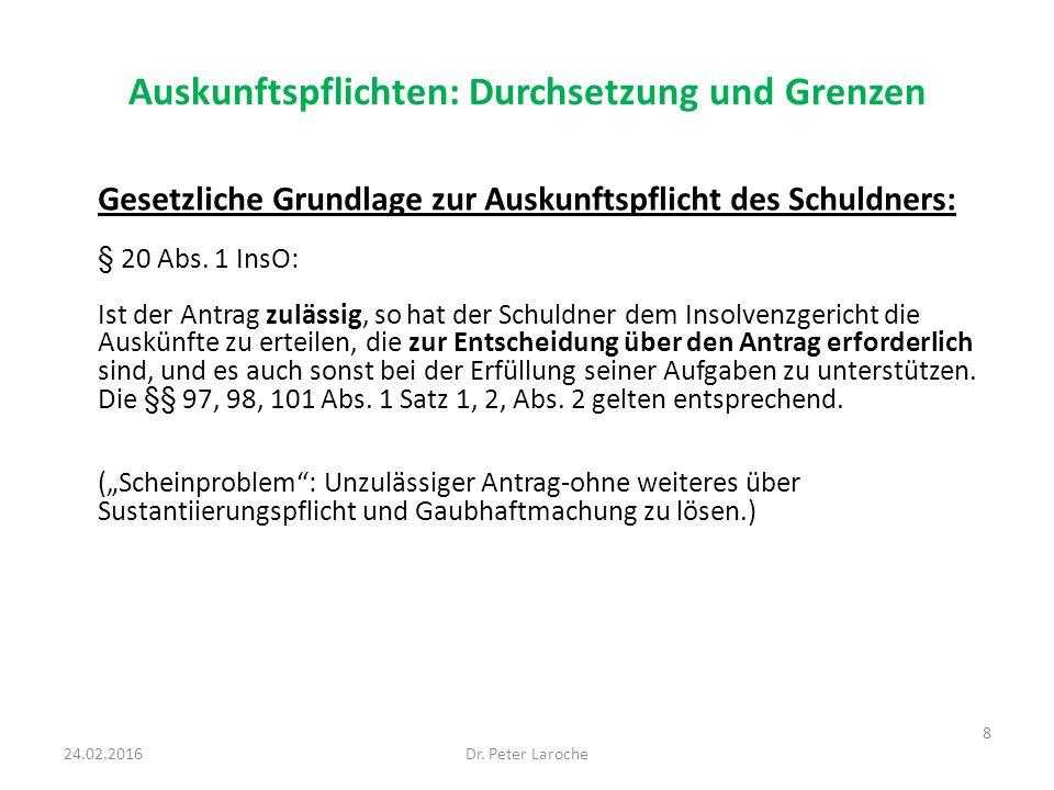 Begründung von Masseverbindlichkeiten in der Eigenverwaltung Generell gegen eine Einzelermächtigung zur Begründung von Masseverbindlichkeiten in der Eigenverwaltung nach § 270a InsO, da es an Ermächtigungsgrundlage und Regelungslücke fehle: AG Fulda, Beschl.