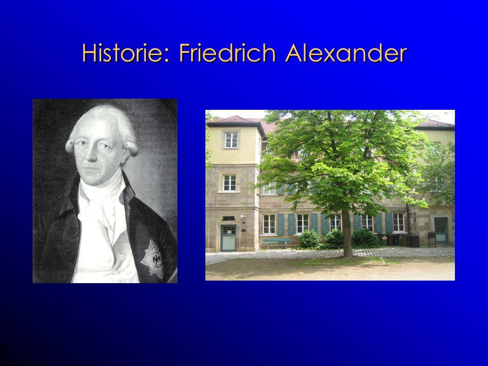 Historie: Friedrich Alexander