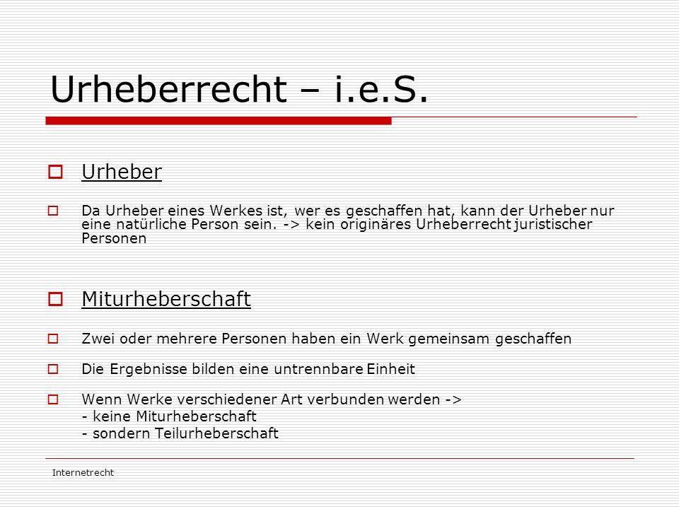 """Internetrecht Pro / Contra Softwarepatente  """"Begriffswirrwar : Ideenpatent, Nutzungspatent, Umsetzungspatent  """"technischer Beitrag : schwer definierbar"""