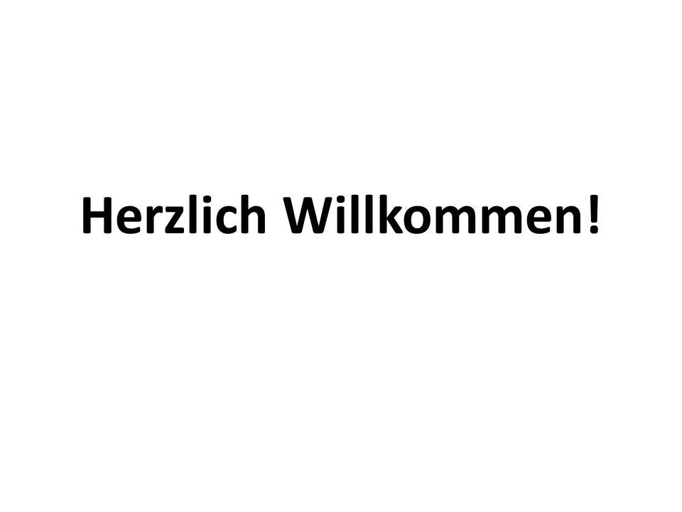 Guten Morgen.(Good morning!) Herzlich Willkommen.