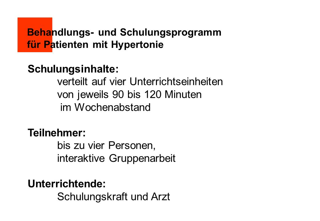 Nach 3 Jahren effektive Blutdrucksenkung Sawicki, P.T., Mühlhauser, I.
