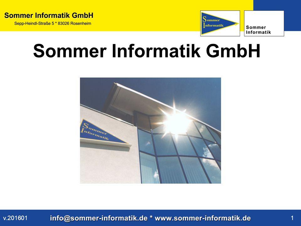 www.sommer-informatik.de 1 Sommer Informatik GmbH v.201601