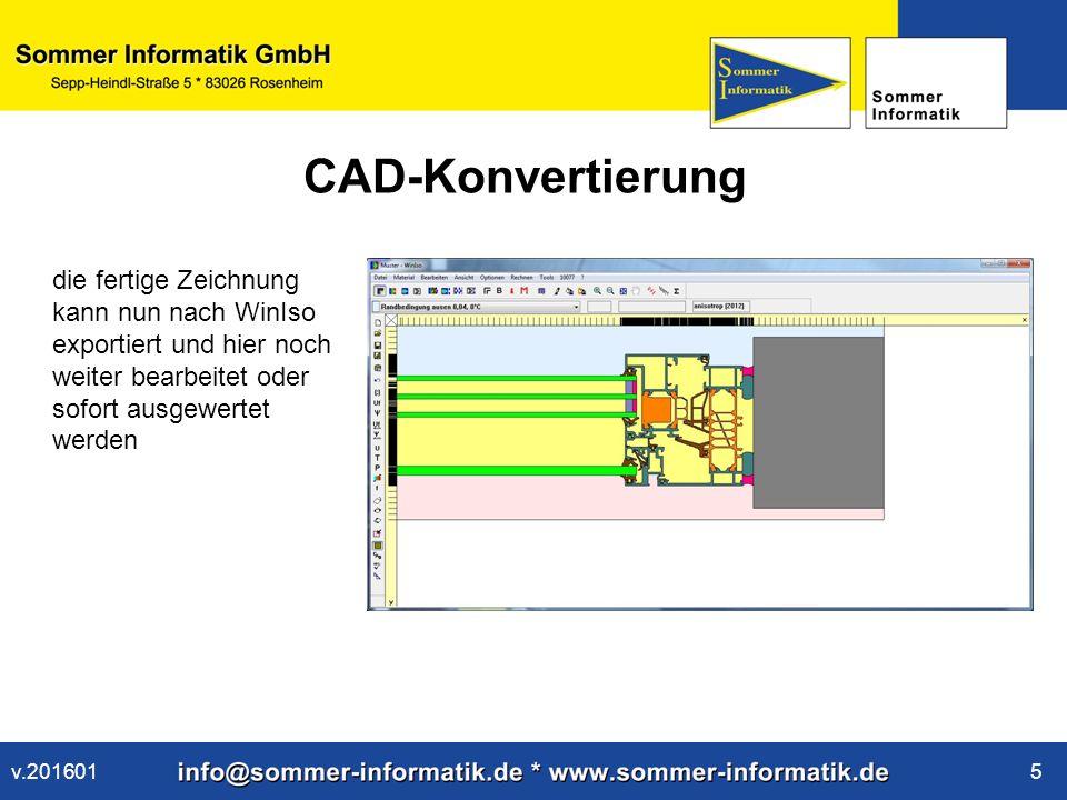 www.sommer-informatik.de 16 Ausdruck Eine ansprechende Präsentation des Ergebnisses ist mit dem Ausdruck möglich v.201601