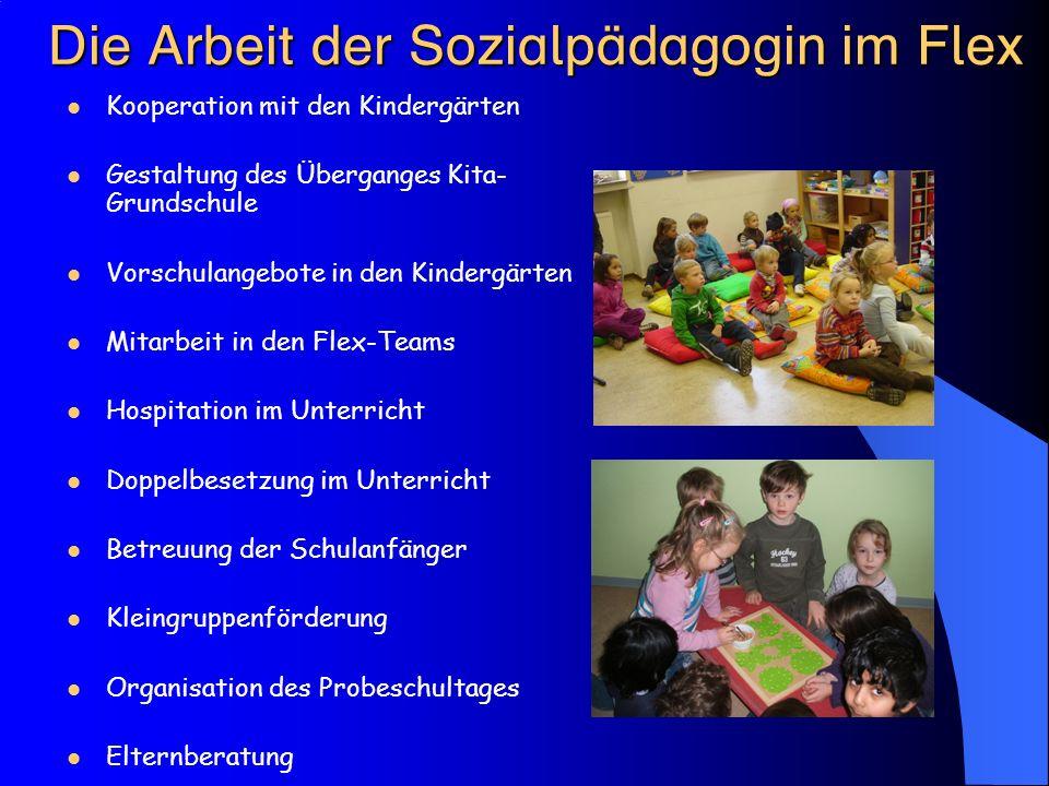  Kooperation mit den Kindergärten Gestaltung des Überganges Kita- Grundschule Vorschulangebote in den Kindergärten