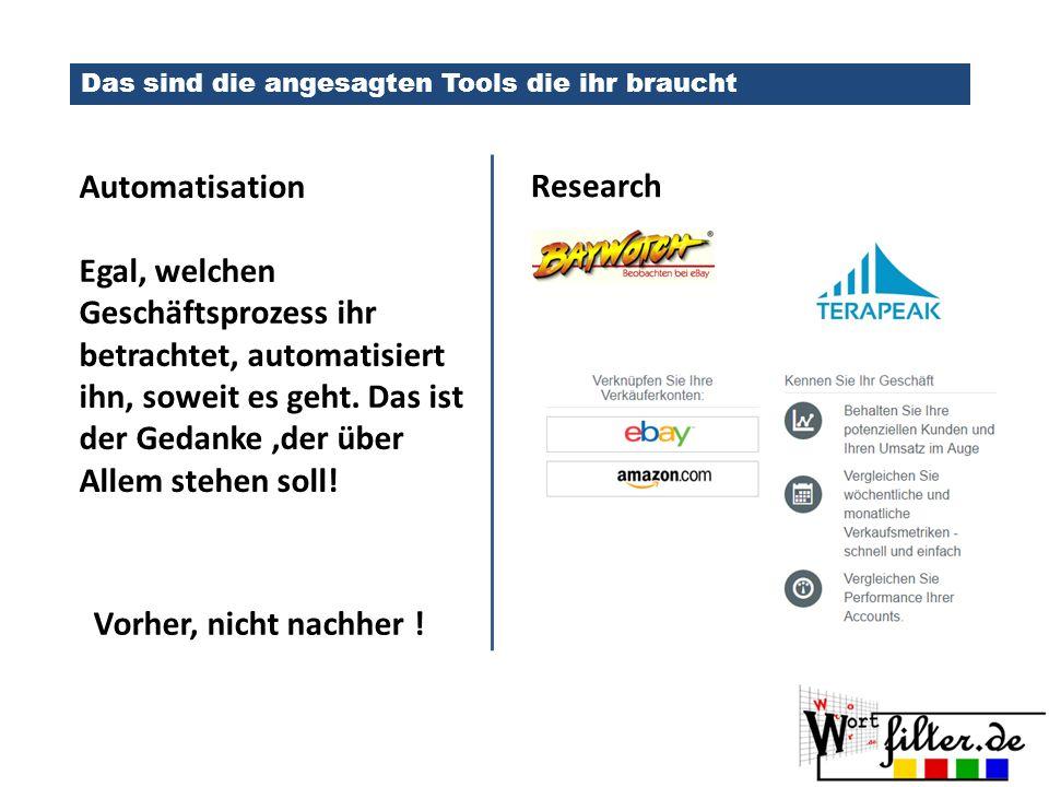 Das sind die angesagten Tools die ihr braucht Automatisation Egal, welchen Geschäftsprozess ihr betrachtet, automatisiert ihn, soweit es geht.