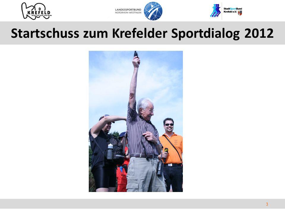 3 Startschuss zum Krefelder Sportdialog 2012