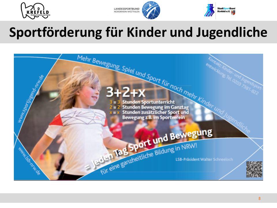 8 Sportförderung für Kinder und Jugendliche