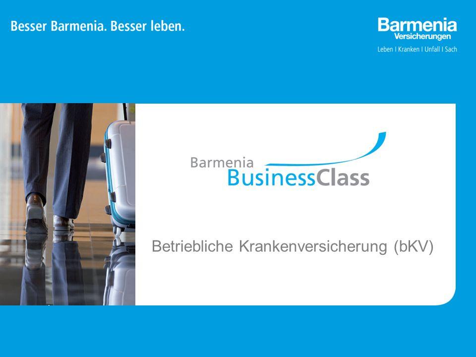 22 Zukunftssicherung für Unternehmen Barmenia BusinessClass 1.