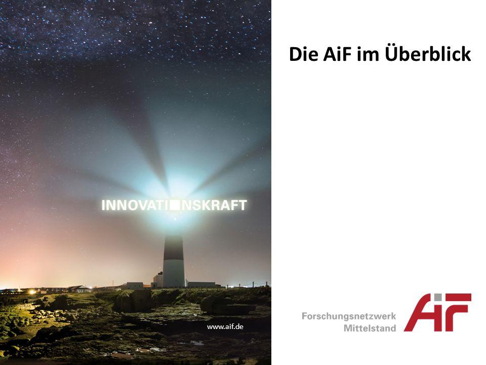 www.aif.de Die AiF im Überblick