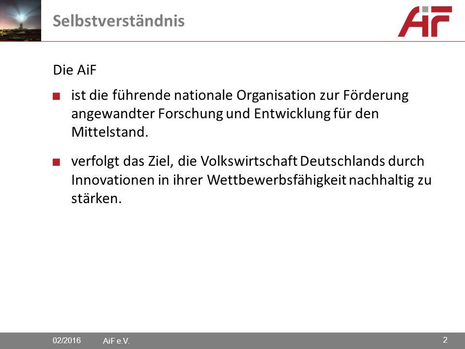 Die AiF ■ ist die führende nationale Organisation zur Förderung angewandter Forschung und Entwicklung für den Mittelstand.