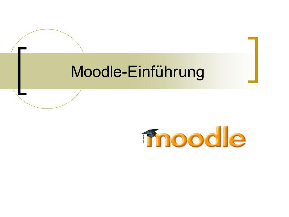 Moodle-Einführung