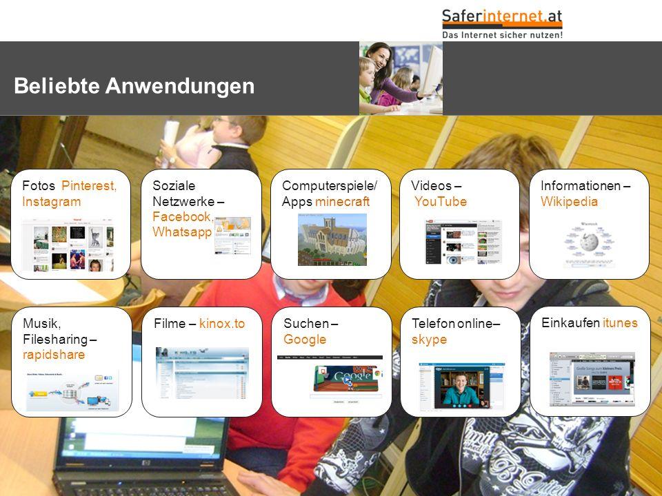 Internet – Ombudsmann einschalten – www.ombudsmann.at oder Rat auf Draht www.rataufdraht.at Ich habe ein Recht auf das eigene Bild