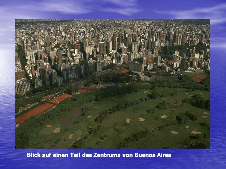 Blick auf einen Teil des Zentrums von Buenos Aires