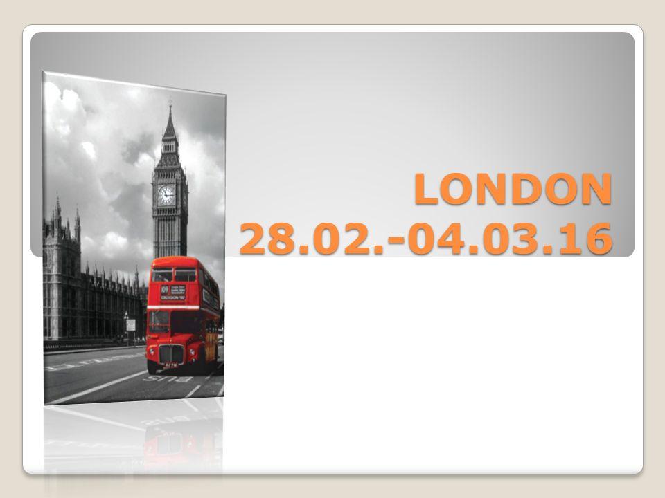 LONDON 28.02.-04.03.16