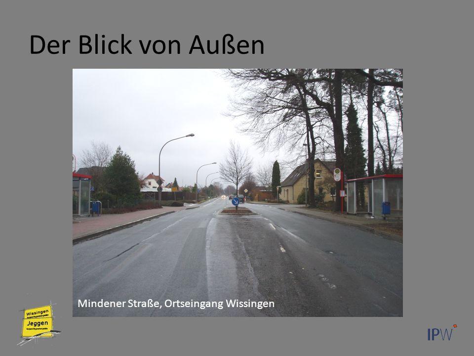 Der Blick von Außen Mindener Straße, Ortseingang Wissingen