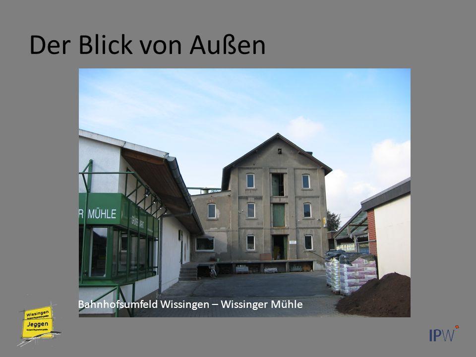Der Blick von Außen Bahnhofsumfeld Wissingen – Wissinger Mühle