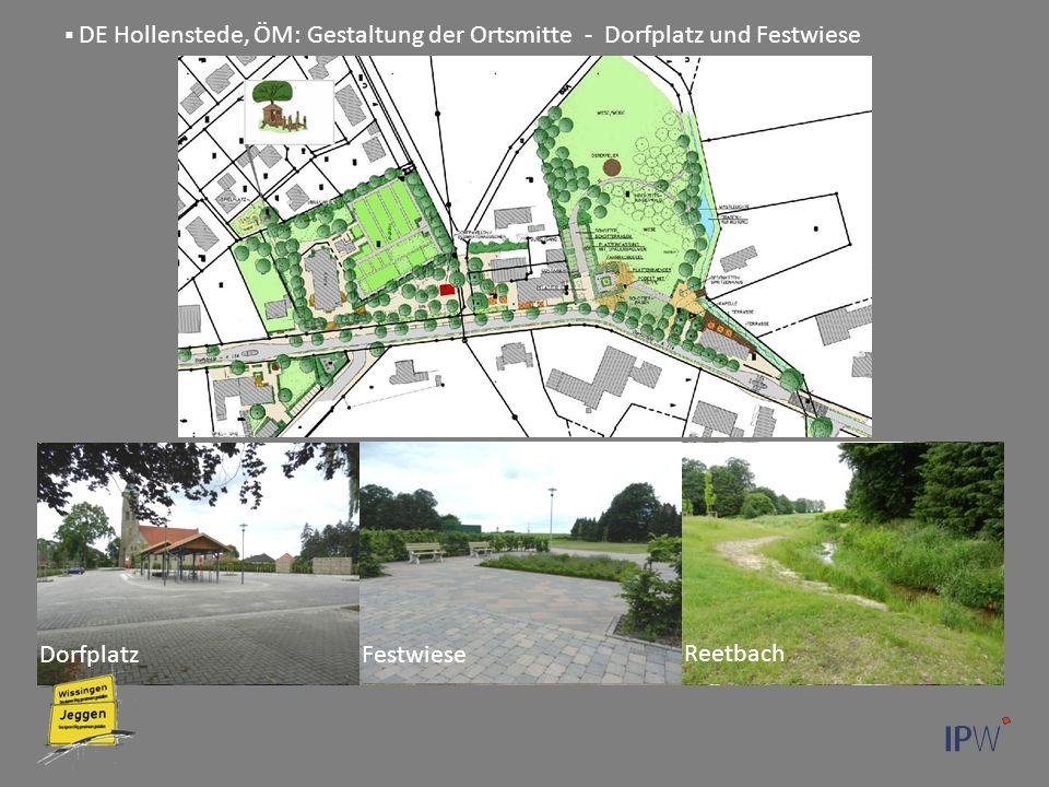 DE Hollenstede, ÖM: Gestaltung der Ortsmitte - Dorfplatz und Festwiese DorfplatzFestwiese Reetbach