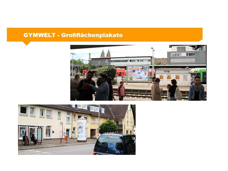 GYMWELT - Großflächenplakate