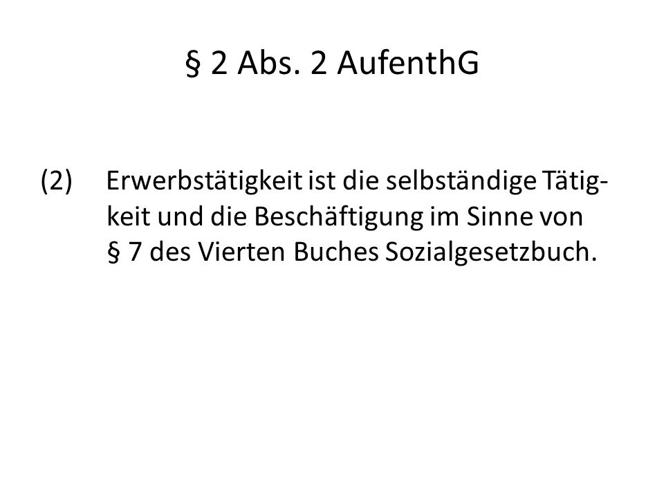 § 2 Abs.