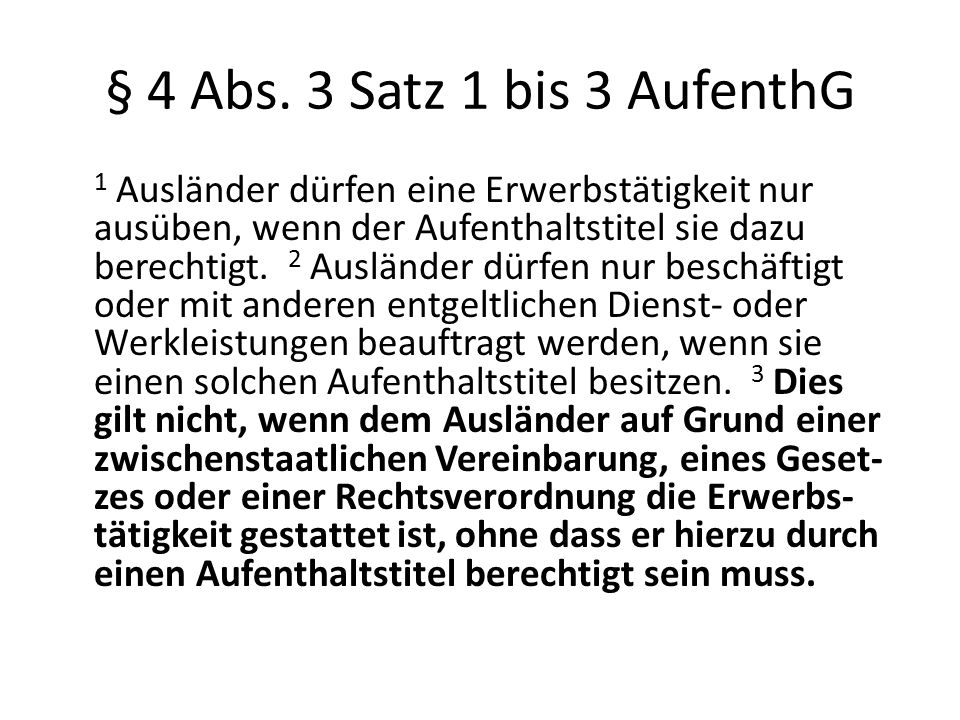 § 4 Abs.