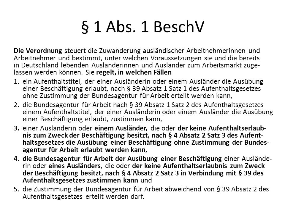 § 1 Abs.