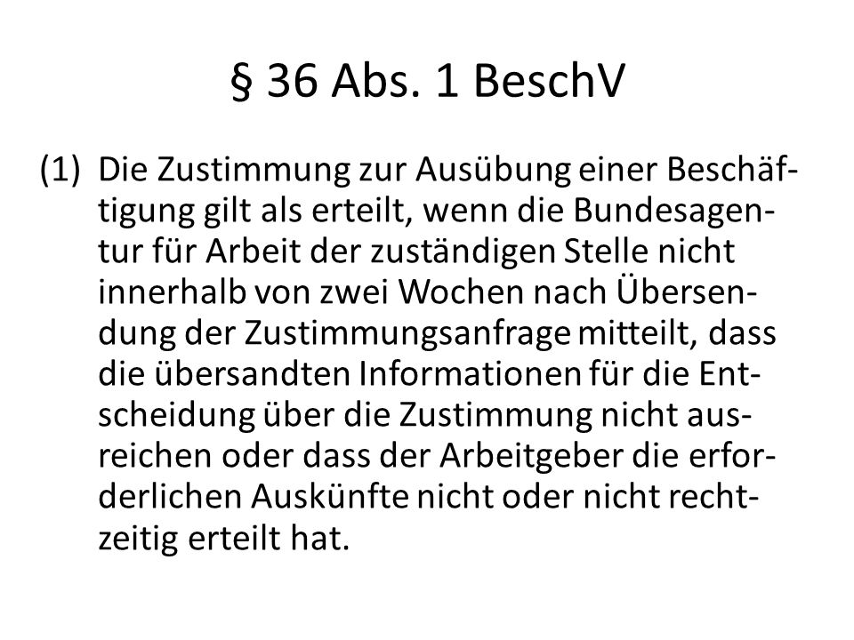 § 36 Abs.