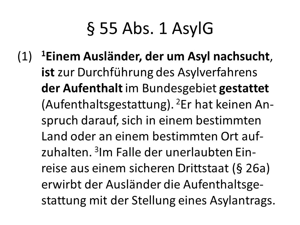 § 55 Abs.
