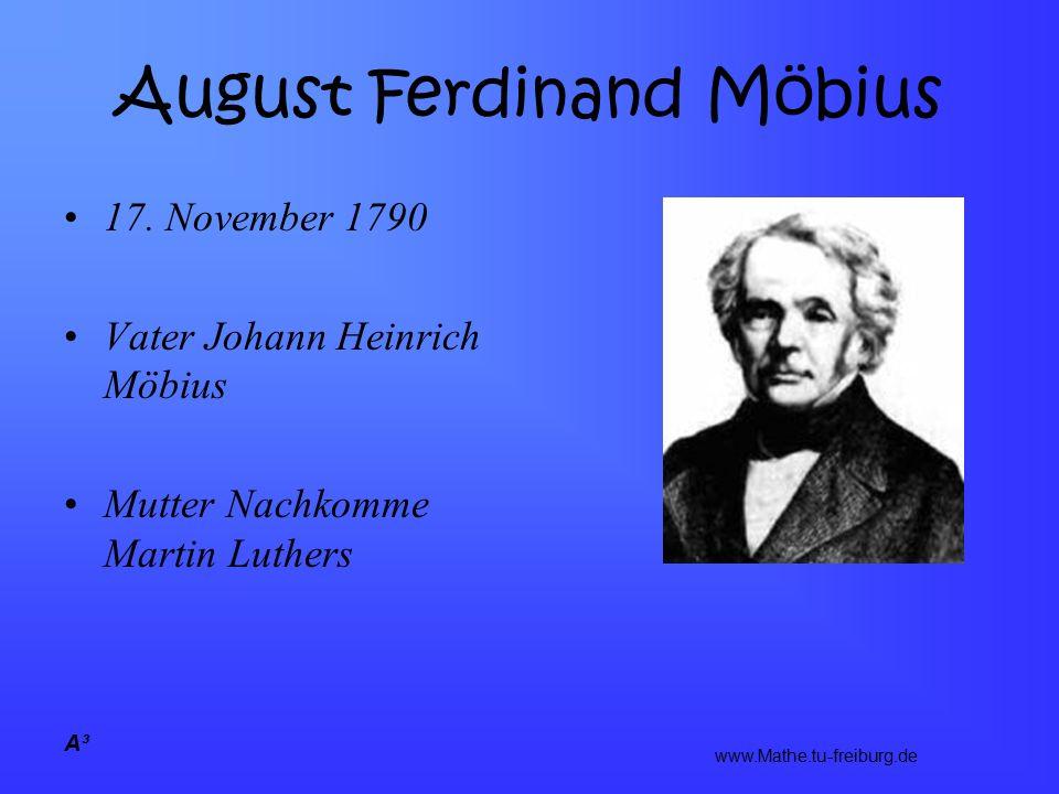 A³ August Ferdinand Möbius 17.