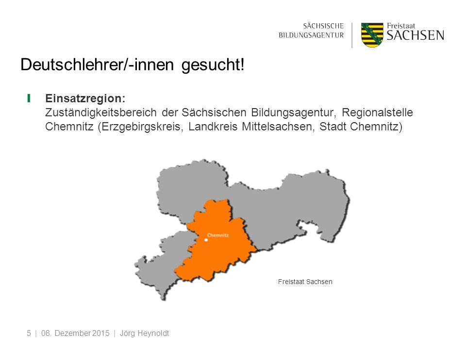 5 Deutschlehrer/-innen gesucht.