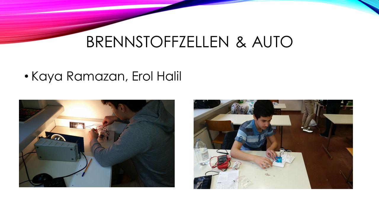 BRENNSTOFFZELLEN & AUTO Kaya Ramazan, Erol Halil