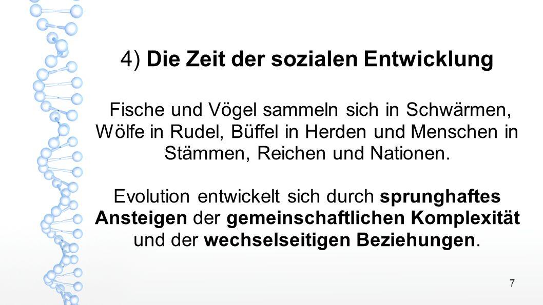8 Bruce Lipton - Spontane Evolution In der nächsten Phase der menschlichen Evolution geht es weniger um die Veränderung im Körper, sondern vielmehr um die gemeinschaftliche Entwicklung der Menschheit.