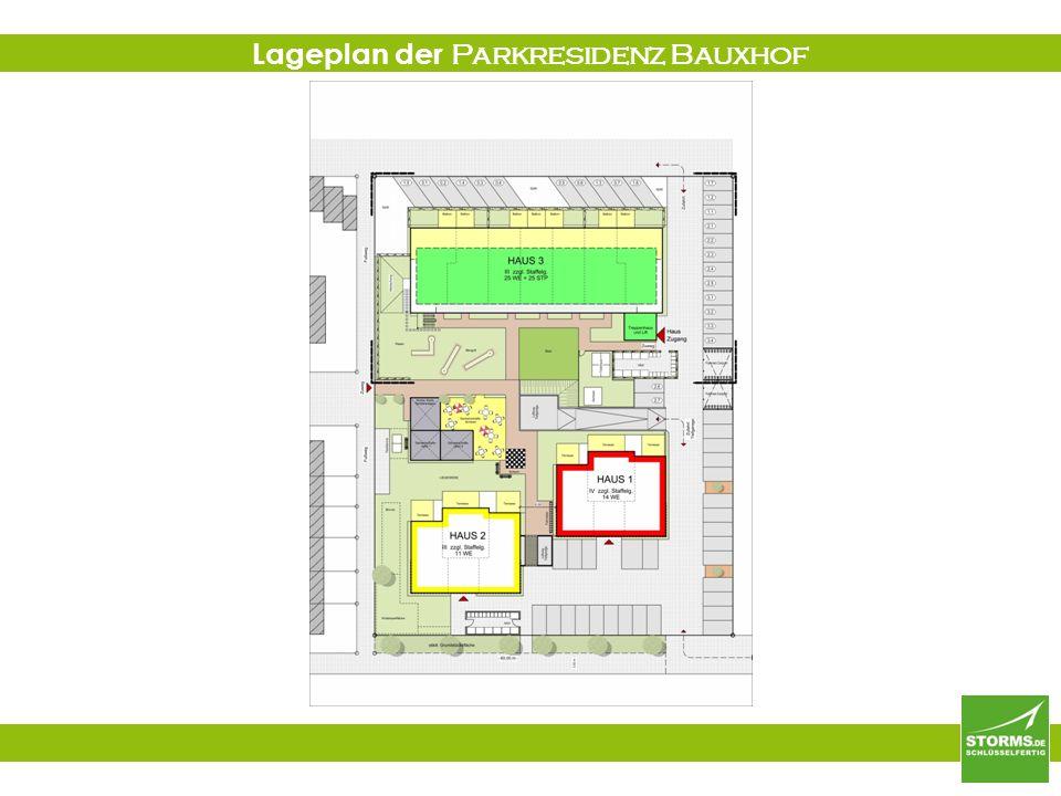 Lageplan der Parkresidenz Bauxhof