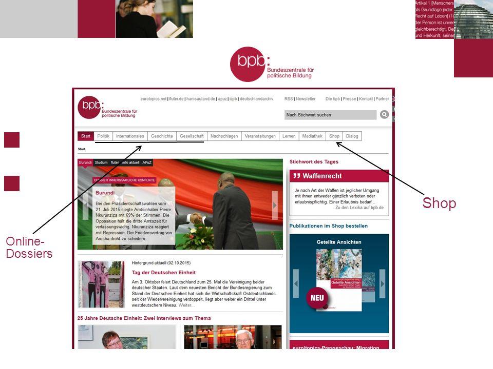 Shop Online- Dossiers