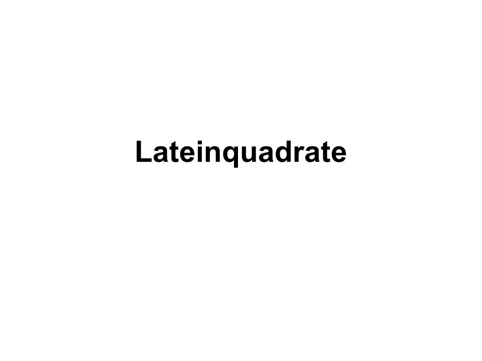 Lateinquadrate